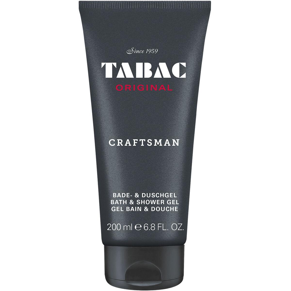 Wirtz Tabac Original Craftsman /  Bath & Shower Gel 6.8 oz (200 Ml) (m) In Black
