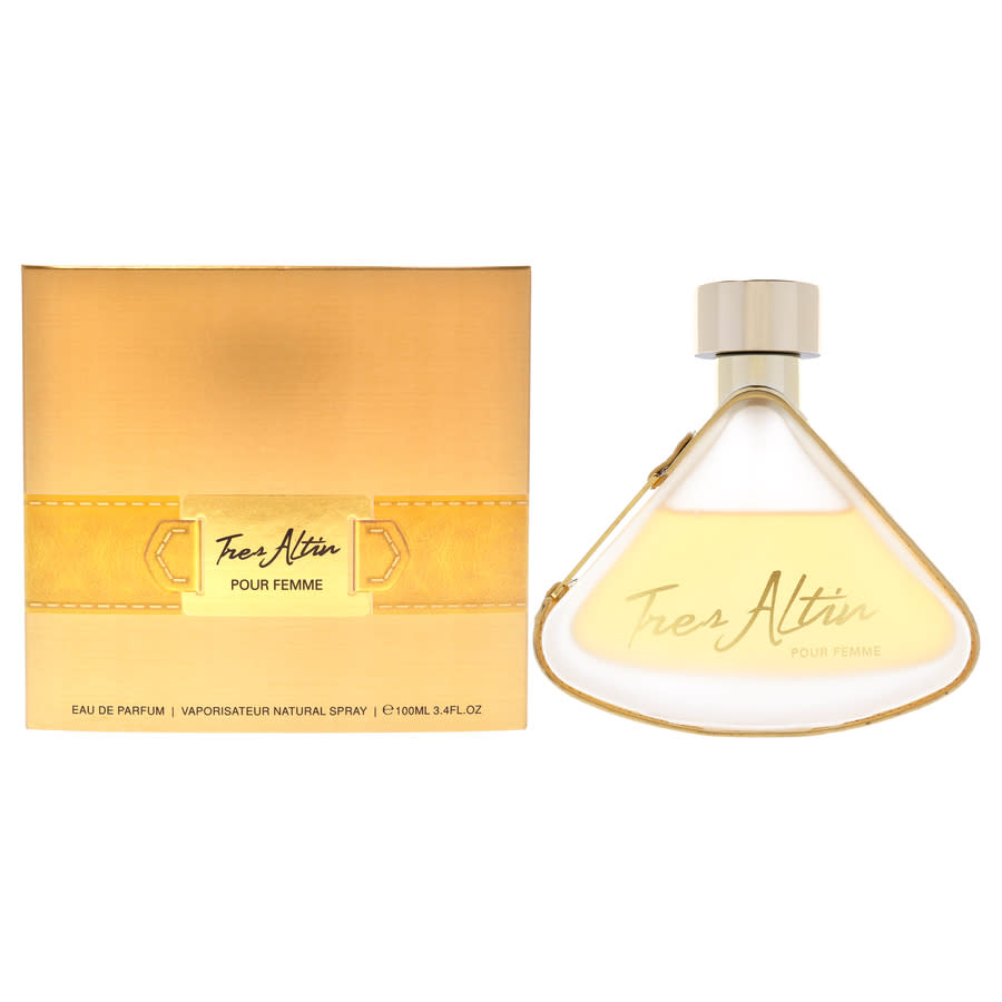 Armaf Ladies Tres Altin Edp Spray 3.4 oz Fragrances 6085010041360 In Gold