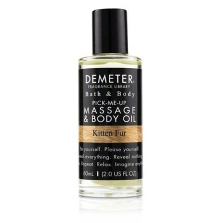 Demeter - Kitten Fur Massage & Body Oil 60ml/2oz In Transparent