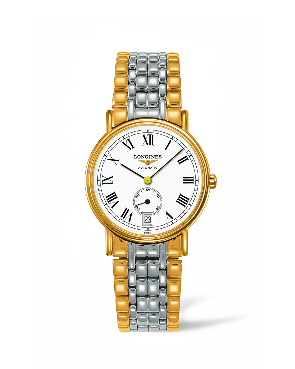 Longines Presence Automatic White Dial Mens Watch L4.804.2.11.7 In Metallic