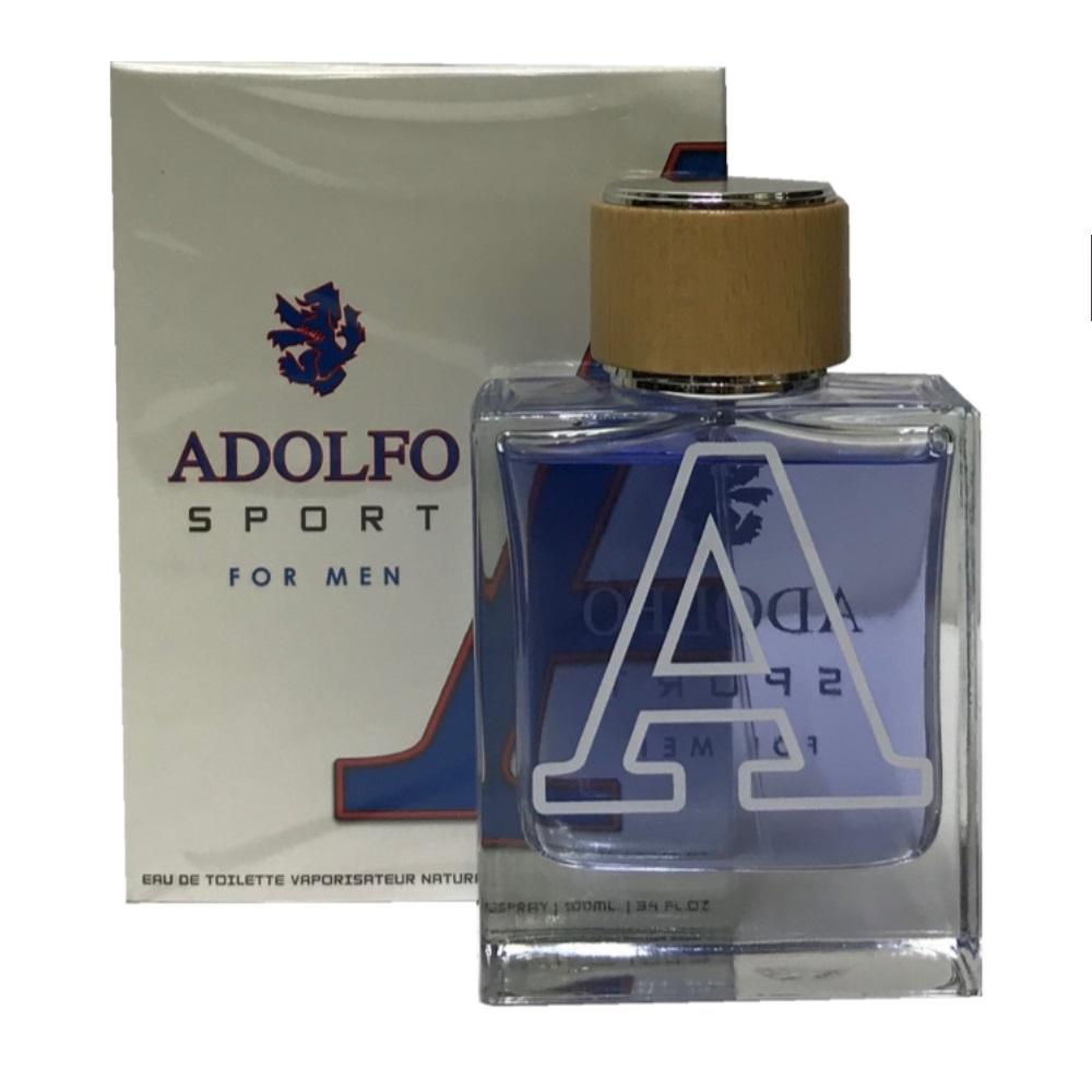 Adolfo For Men Edt Spray 3.4 oz (100 Ml) (m) In White