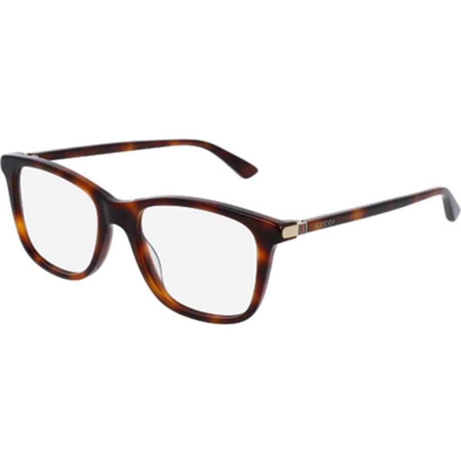 Gucci Demo Square Mens Eyeglasses Gg0018o-006 54 In Brown