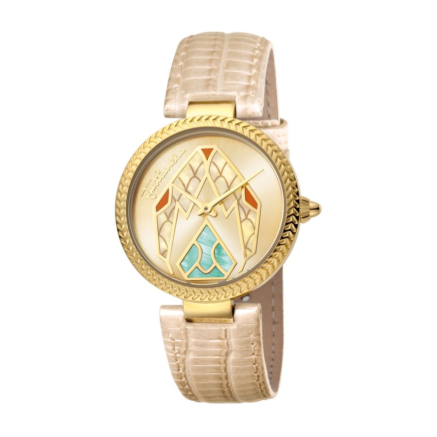 Just Cavalli Magnifica Quartz Rose Gold Dial Ladies Watch Jc1l045l0045 In Neutrals