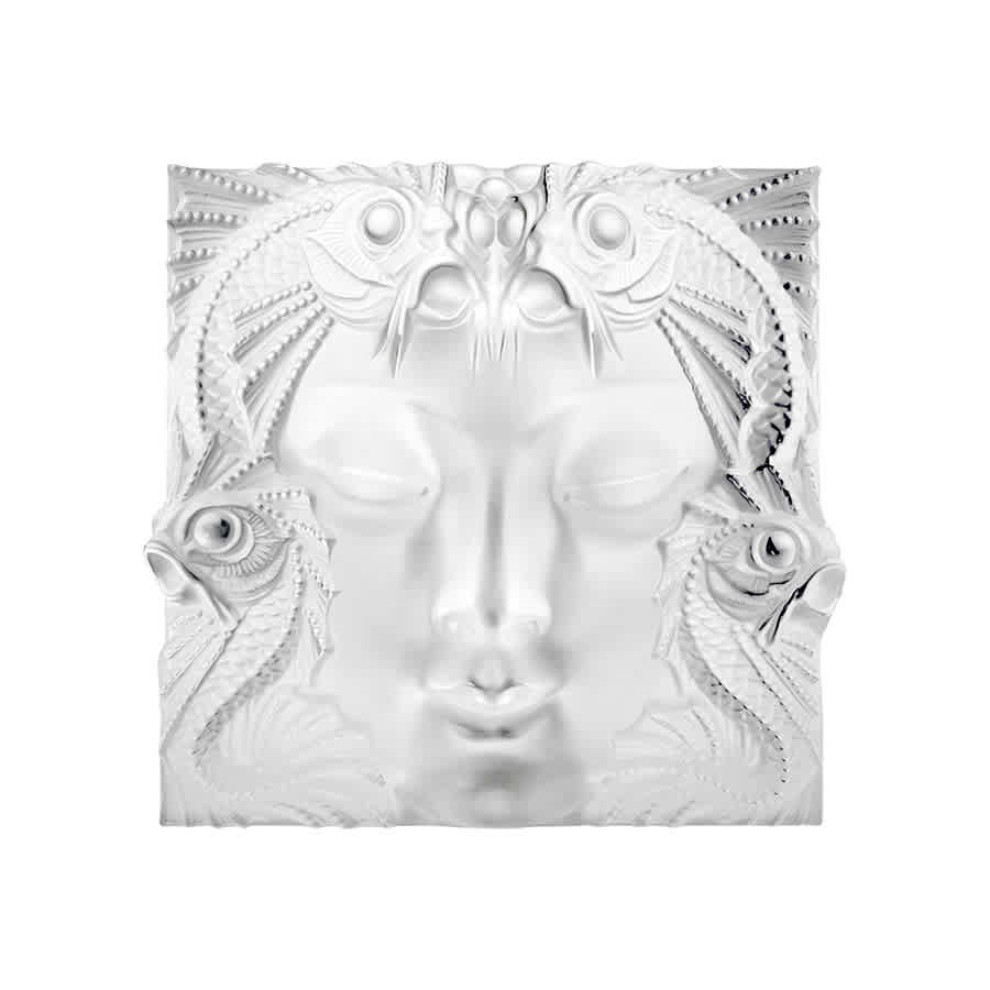 Lalique Masked Pham Woman Mask On Stand 1164500 In White