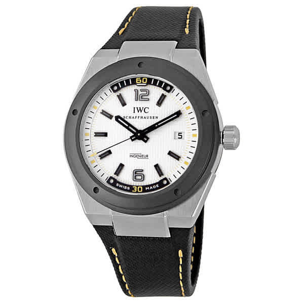 Iwc Schaffhausen Ingenieur Automatic Climate Action Limited Edition Mens Watch 3234-02 In Gray