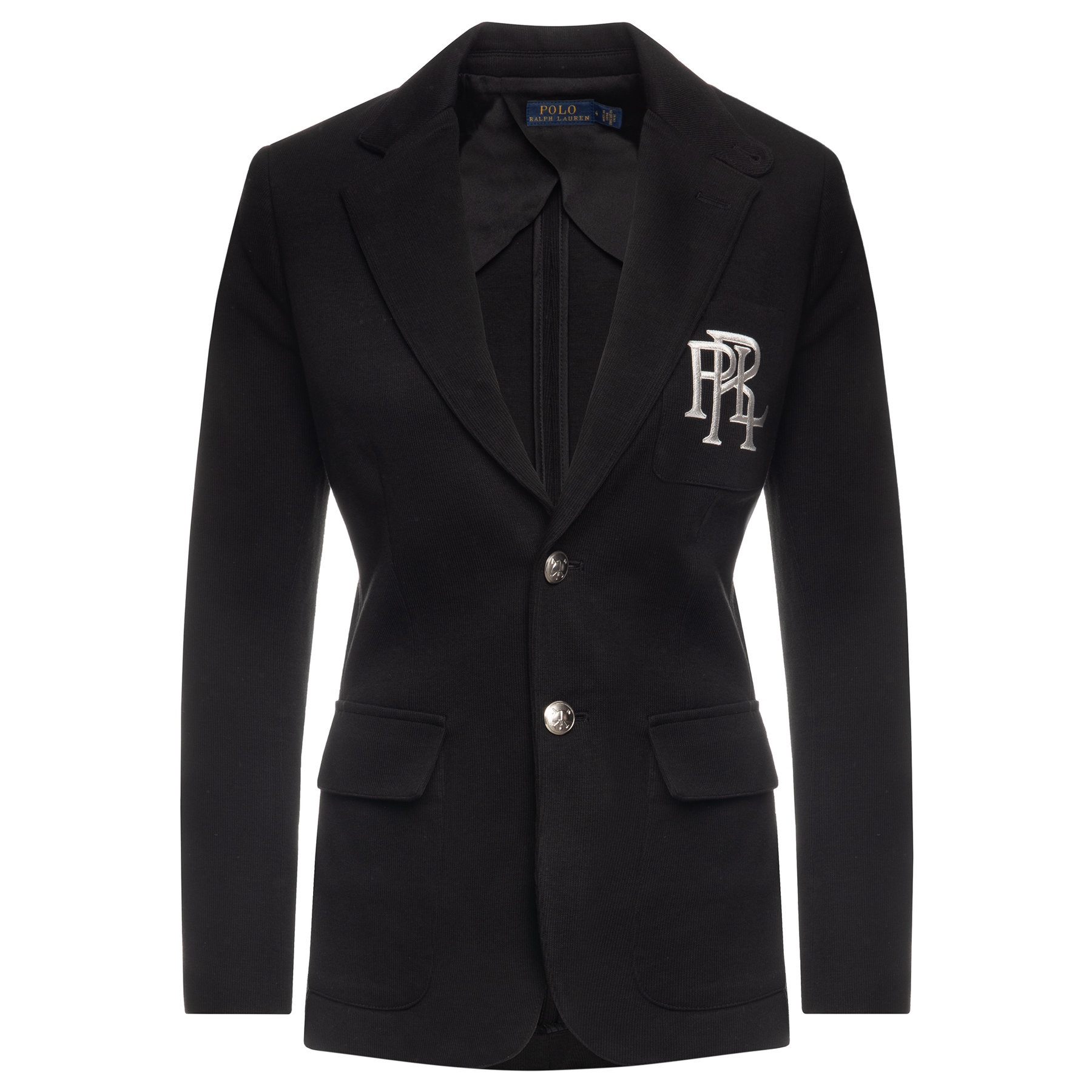 Polo Ralph Lauren Cottons EMBROIDERED SINGLE BREASTED BLAZER