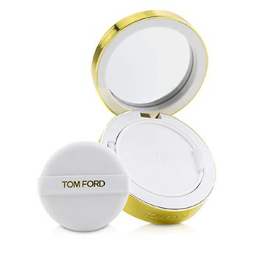 Tom Ford Ladies Soleil Glow Tone Up Hydrating Cushion Compact Foundation Spf40 0.42 oz # 0.5 Porcelain Makeup In N,a