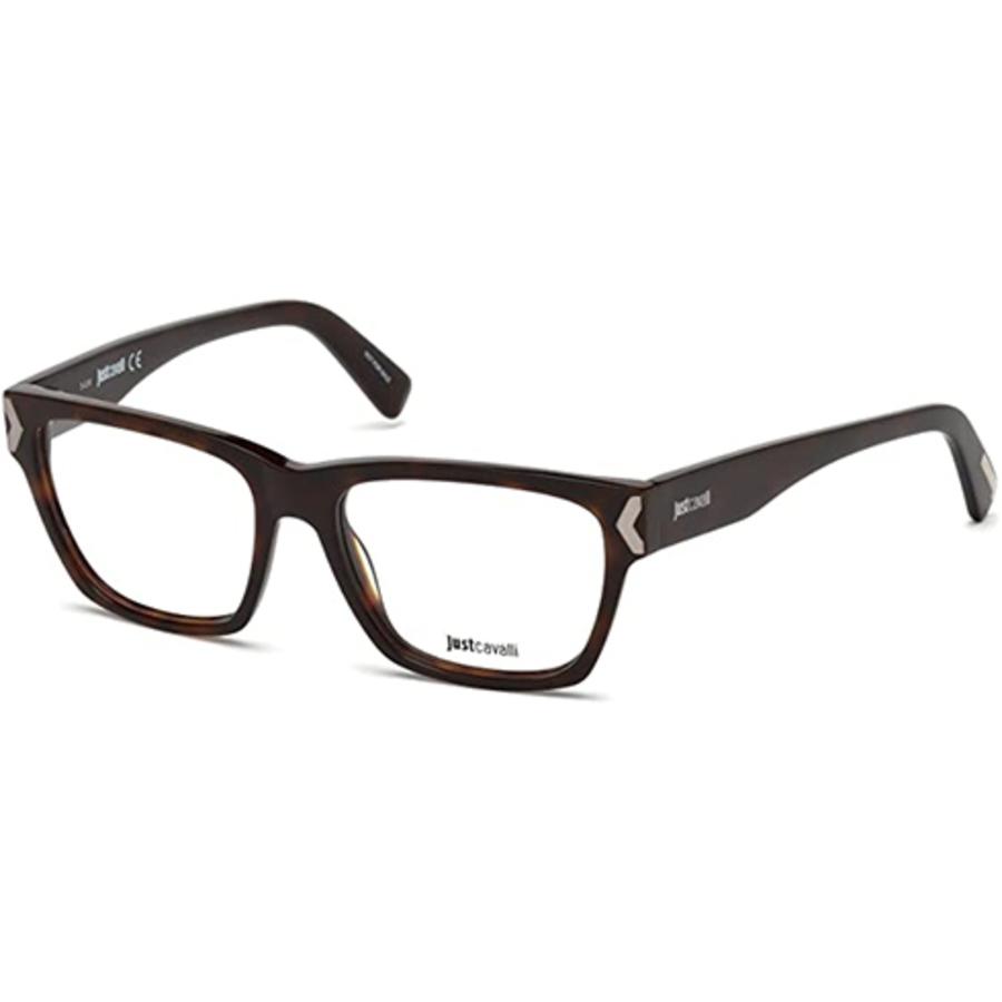 Just Cavalli Ladies Tortoise Square Eyeglass Frames Jc0805 052 53 In Brown