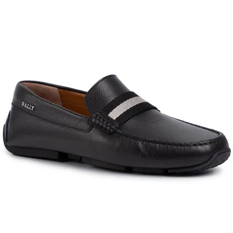 Bally MENS BLACK PEARCE LOAFERS