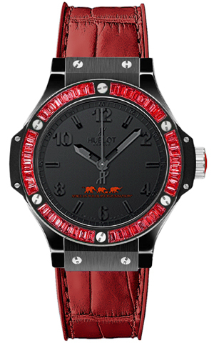 Hublot Big Bang Out Of Africa Red Ladies Watch 361.cr.1110.rr.1913a In Black