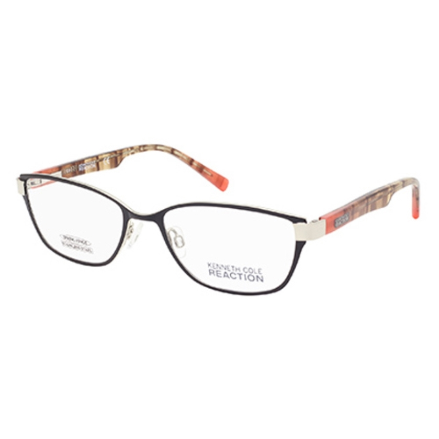 Kenneth Cole Reaction Cat Eye Ladies Eyeglasses Kc0758 5 53 In Multi