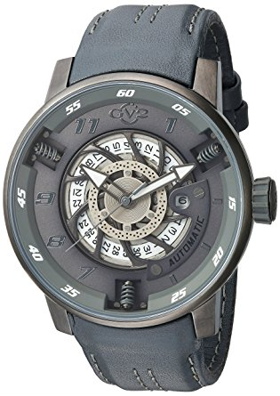 Gv2 By Gevril Autobahn Neomatik Automatic White Dial Mens Watch 1303 In Black,grey