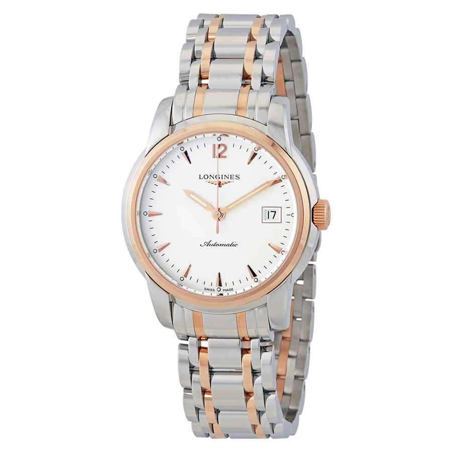 Longines Saint-imier Silver Dial Automatic Mens Watch L27635727 In Metallic