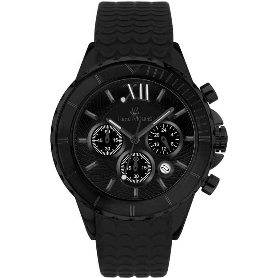Rene Mouris Dream I Chronograph Black Dial Ladies Watch 50108rm9 In Black,mother Of Pearl