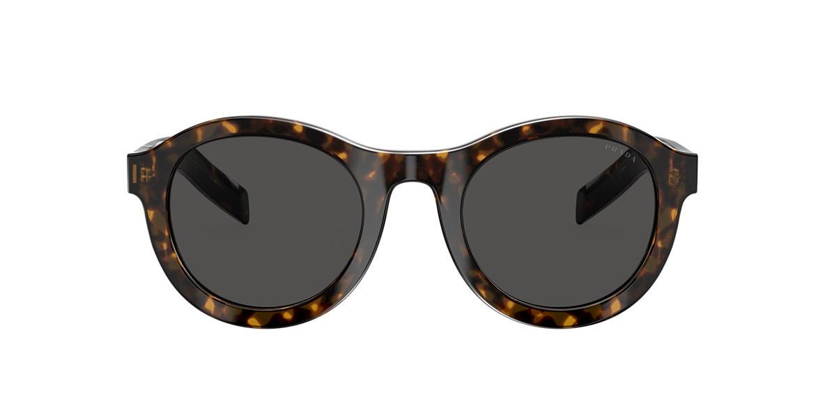 Prada Dark Grey Round Mens Sunglasses Pr 24vs 2au5s0 49