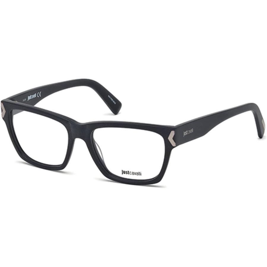 Just Cavalli Ladies Blue Square Eyeglass Frames Jc0805 091 53