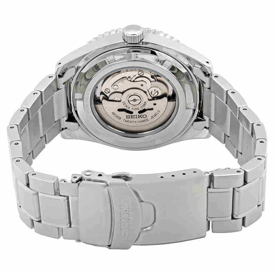 71bc704c7 Seiko Series 5 Automatic Black Dial Men's Watch SRPB91