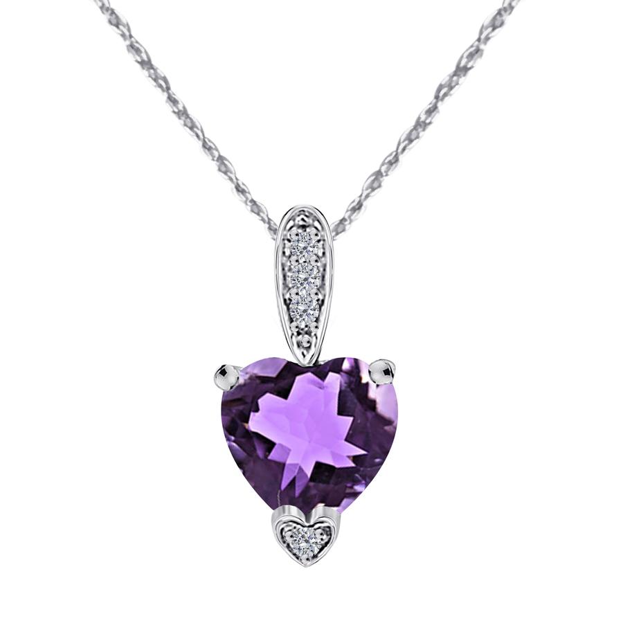 Maulijewels Ladies Jewelry & Cufflinks Mpd0157-wa-dam In Gold Tone,purple,silver Tone,white