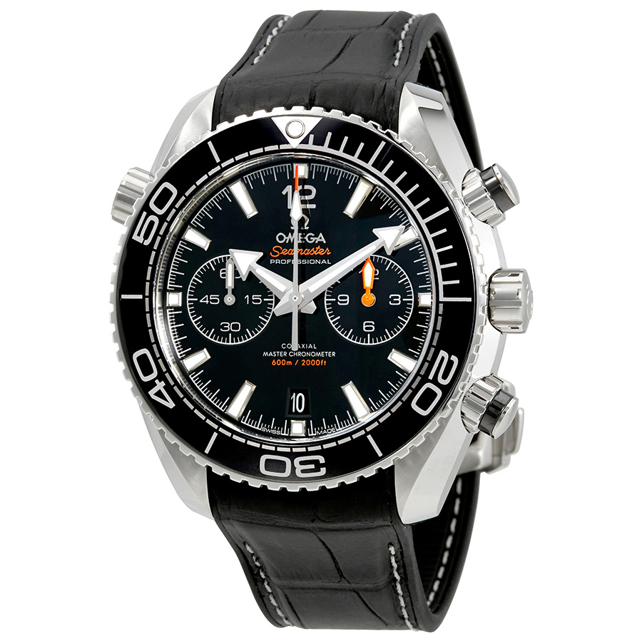 OMEGA PRE-OWNED OMEGA SEAMASTER PLANET OCEAN CHRONOGRAPH AUTOMATIC CHRONOMETER BLACK DIAL MENS WATCH 215.3