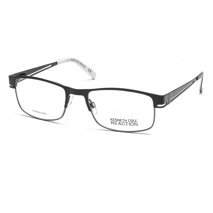 Kenneth Cole New York Mens Black Square Eyeglass Frames Kc069720x