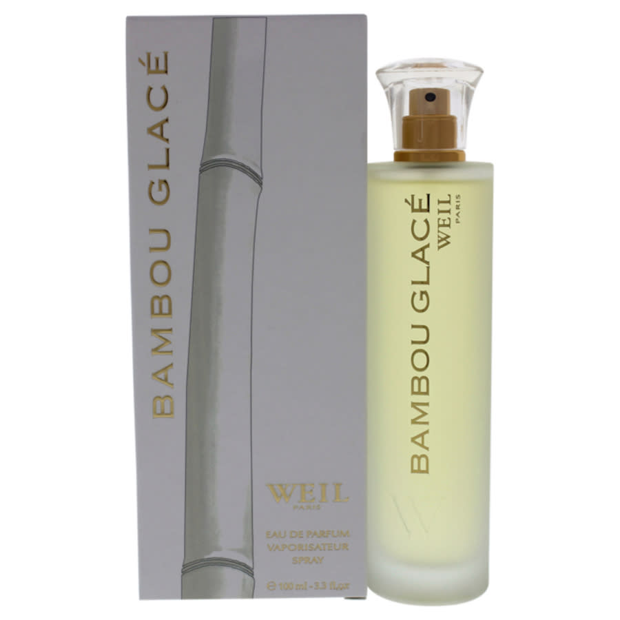 Weil Bambou Glace By  For Women - 3.3 oz Edp Spray In Green