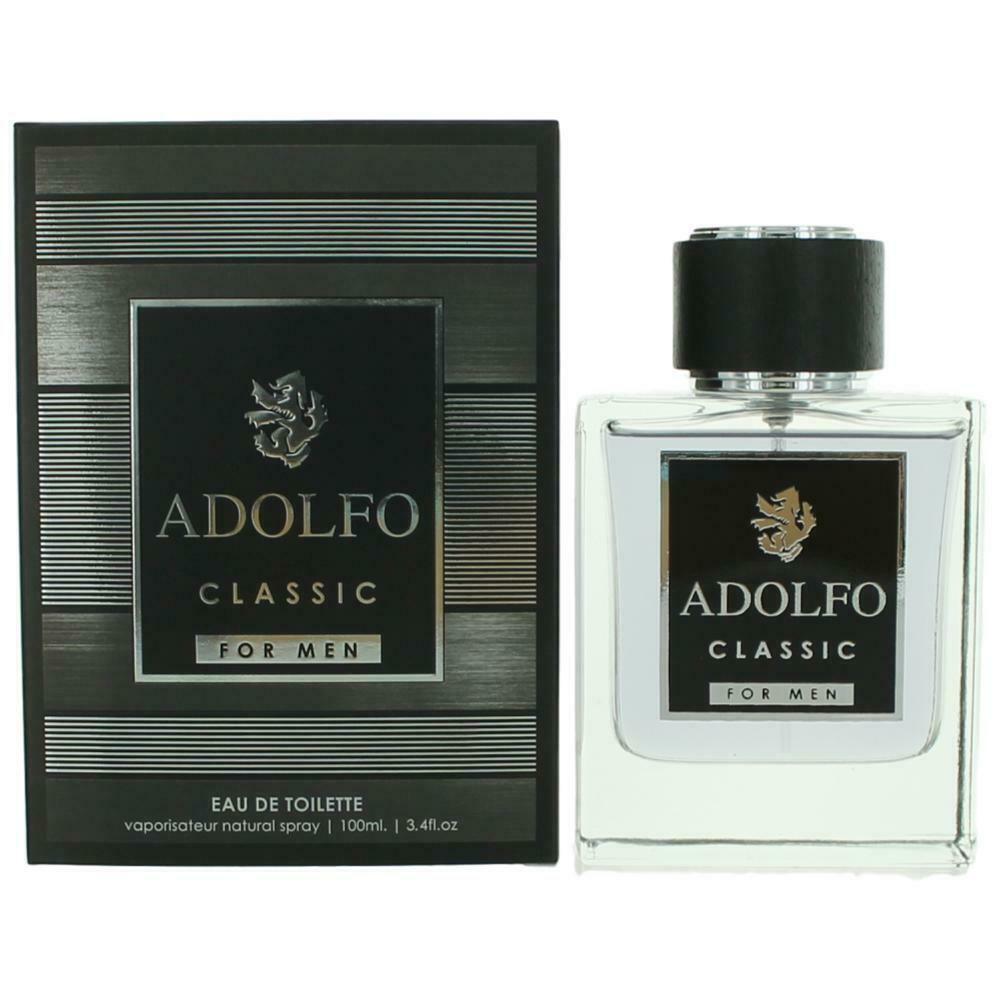 Adolfo Classic /  For Men Edt Spray 3.4 oz (100 Ml) (m) In Pink