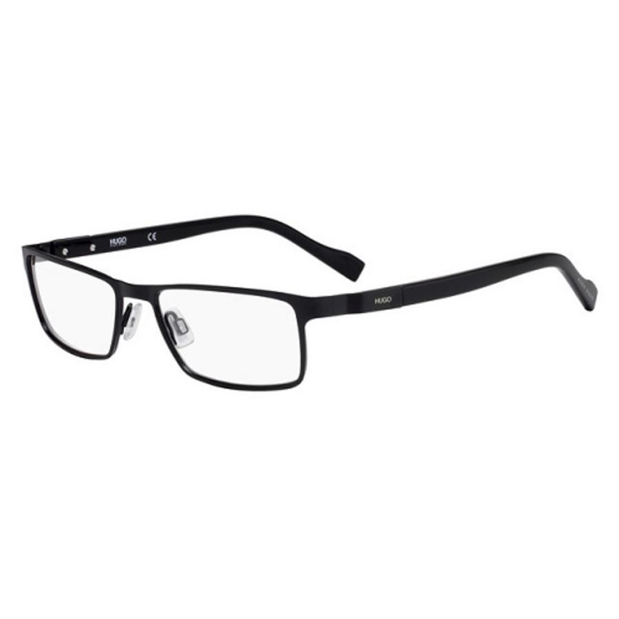 Hugo Boss Mens Black Aviator/pilot Eyeglass Frames Hg 0116 0003 00 52