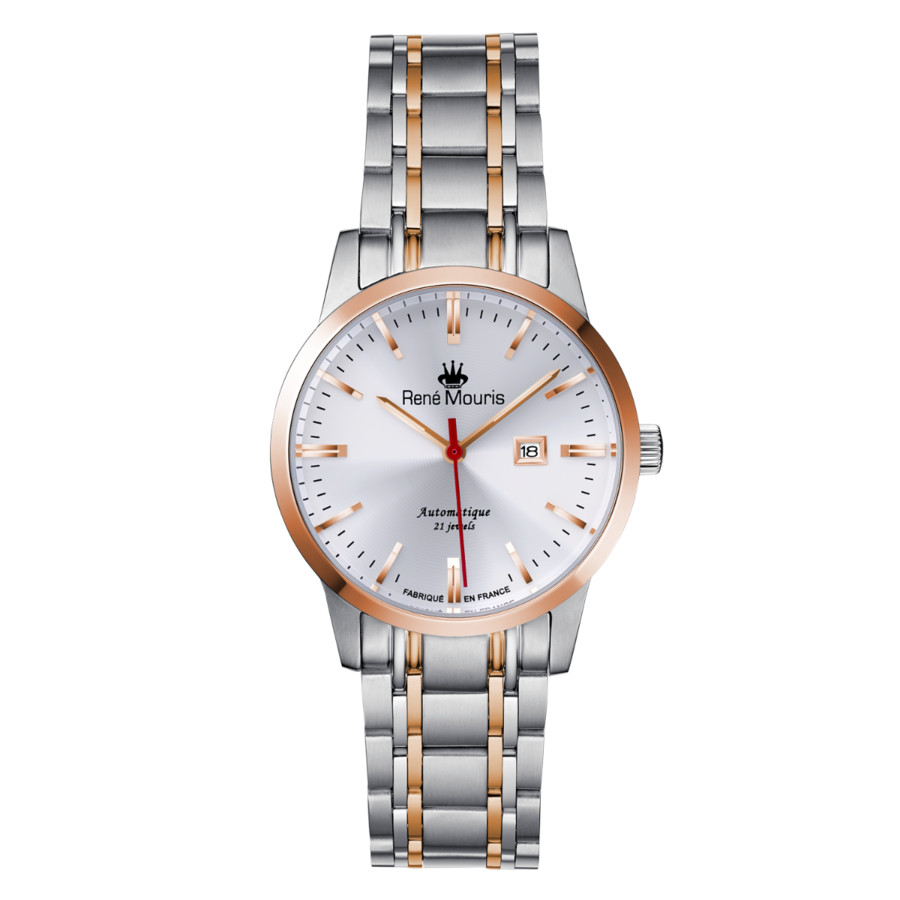 Rene Mouris Noblesse Automatic White Dial Ladies Watch 10108rm3