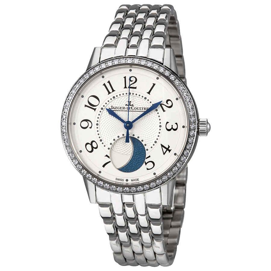 Jaeger-lecoultre Rendez-vous Silver Dial Ladies Diamond Watch Q3578120 In Metallic