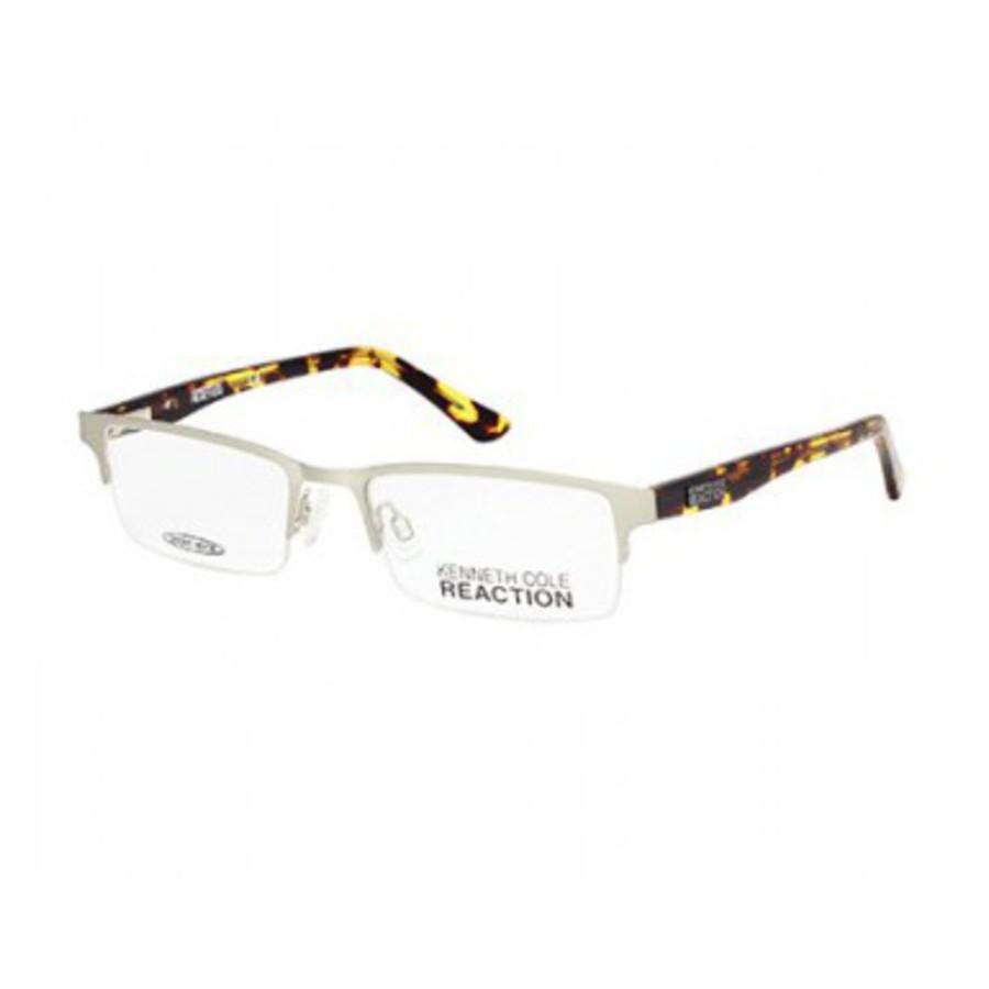 Kenneth Cole Rectangular Mens Eyeglasses Kc0745 011 50 In Transparent