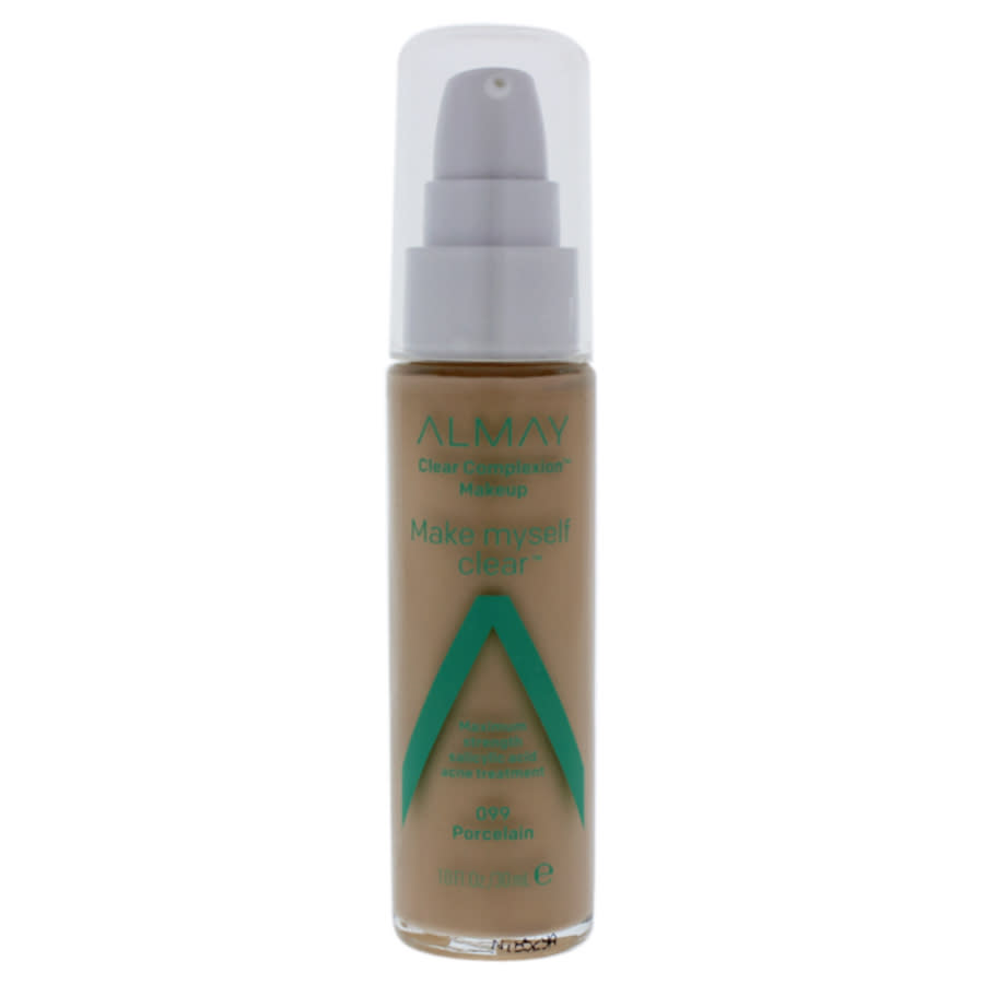 Almay Clear Complexion Makeup - 099 Porcelain By  For Women - 1 oz Foundation In N,a