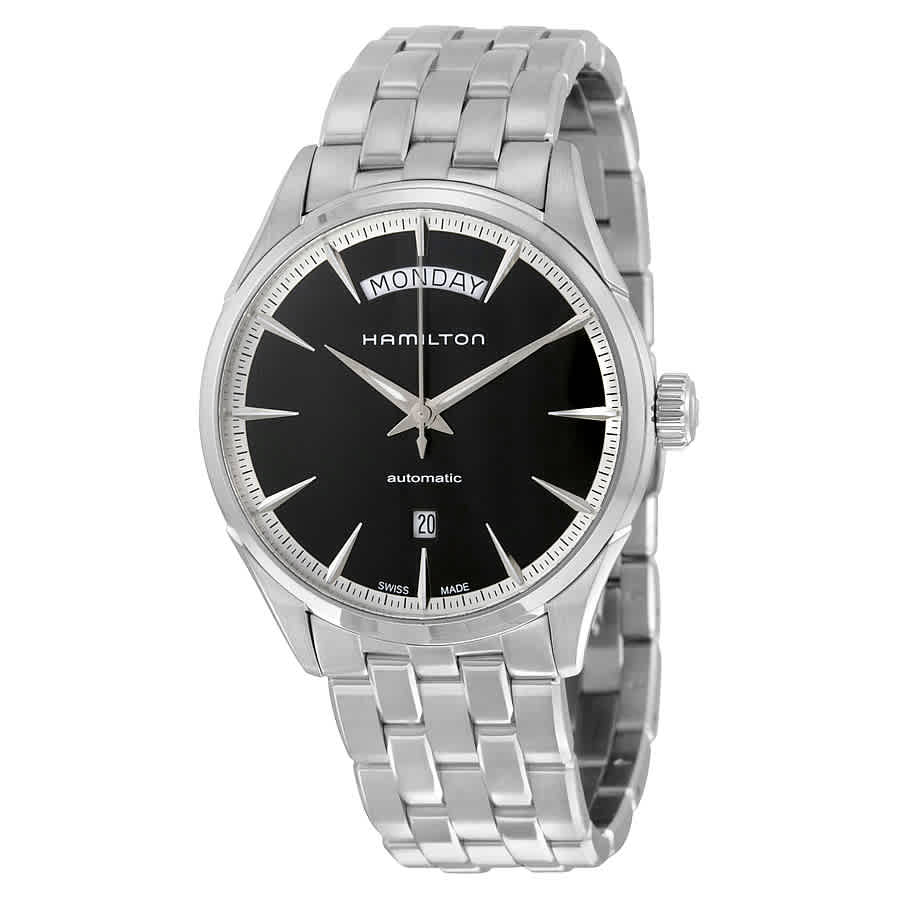 Hamilton Jazzmaster Automatic Black Dial Mens Watch H42565131 In Metallic