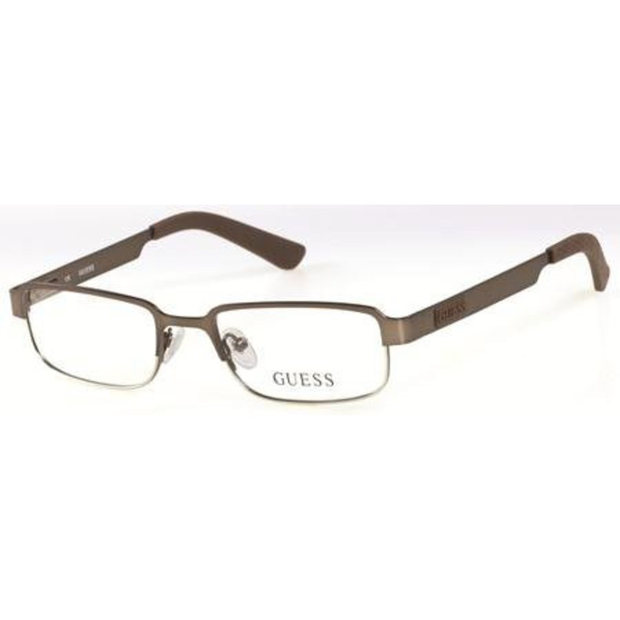 Guess Unisex Brown Rectangular Eyeglass Frames Gu9114 (gu 9114) E70 47