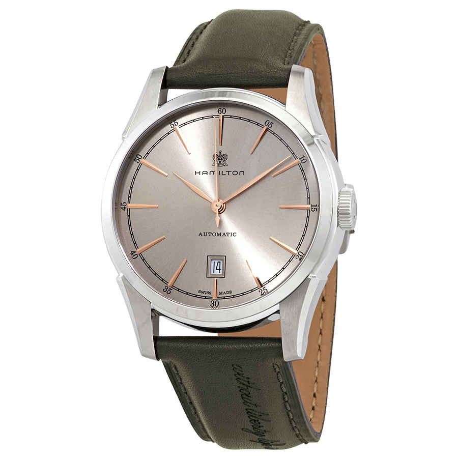 Hamilton American Classic Spirit Of Liberty Automatic Mens Watch H42415801 In Green