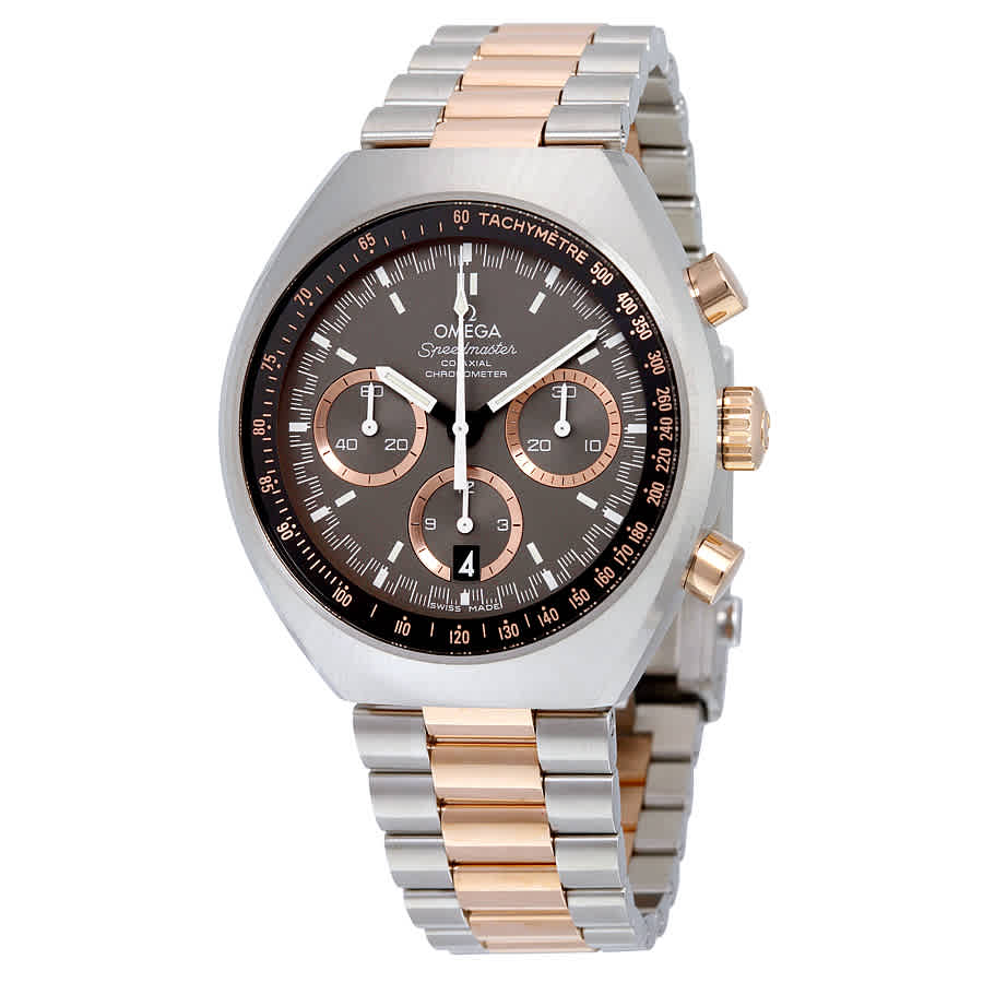 OMEGA PRE-OWNED OMEGA SPEEDMASTER MARK II CHRONOGRAPH AUTOMATIC CHRONOMETER GREY DIAL MENS WATCH 327.20.43