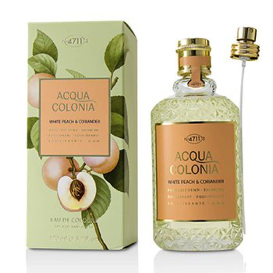 4711 Unisex Acqua Colonia White Peach & Coriander Edc Spray 5.7 oz Fragrances 4011700745371 In Orange,white