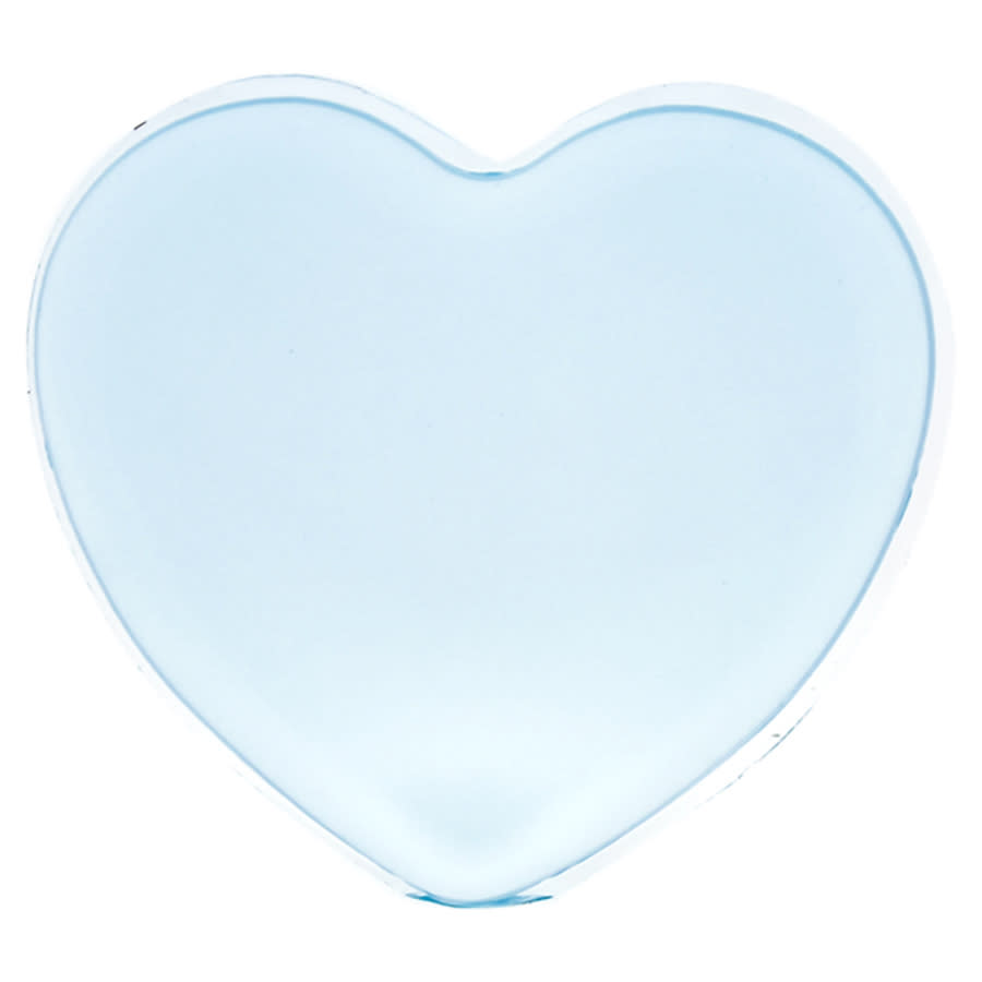 Sun Smile Silicone Heart Puff - Blue By  For Women - 1 Pc Sponge