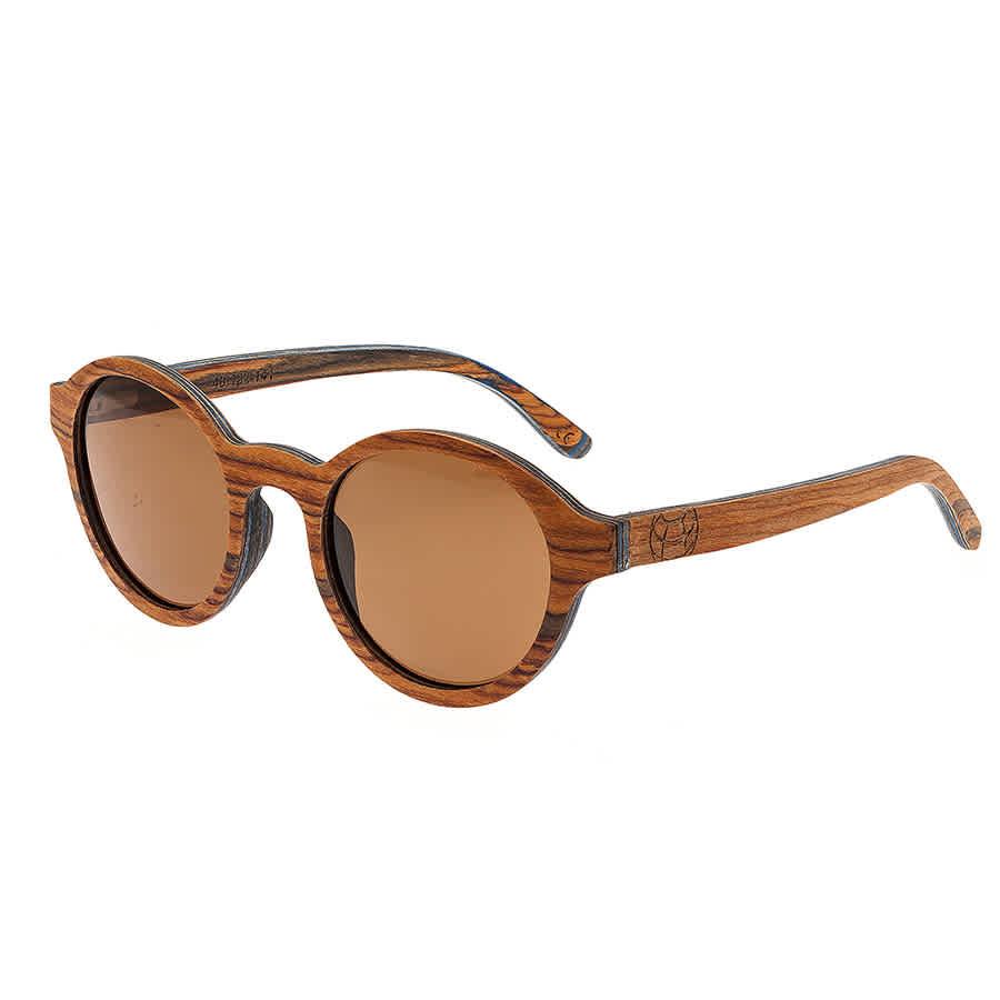 Earth Maho Wood Sunglasses In Brown