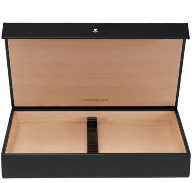 Montblanc Sartorial Travel Cigar Humidor In Black