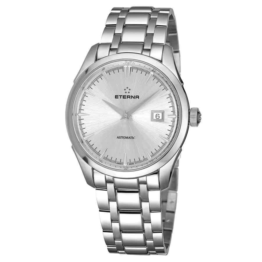 Eterna Eternity Automatic Silver Dial Mens Watch 2951.41.10.1700 In Metallic