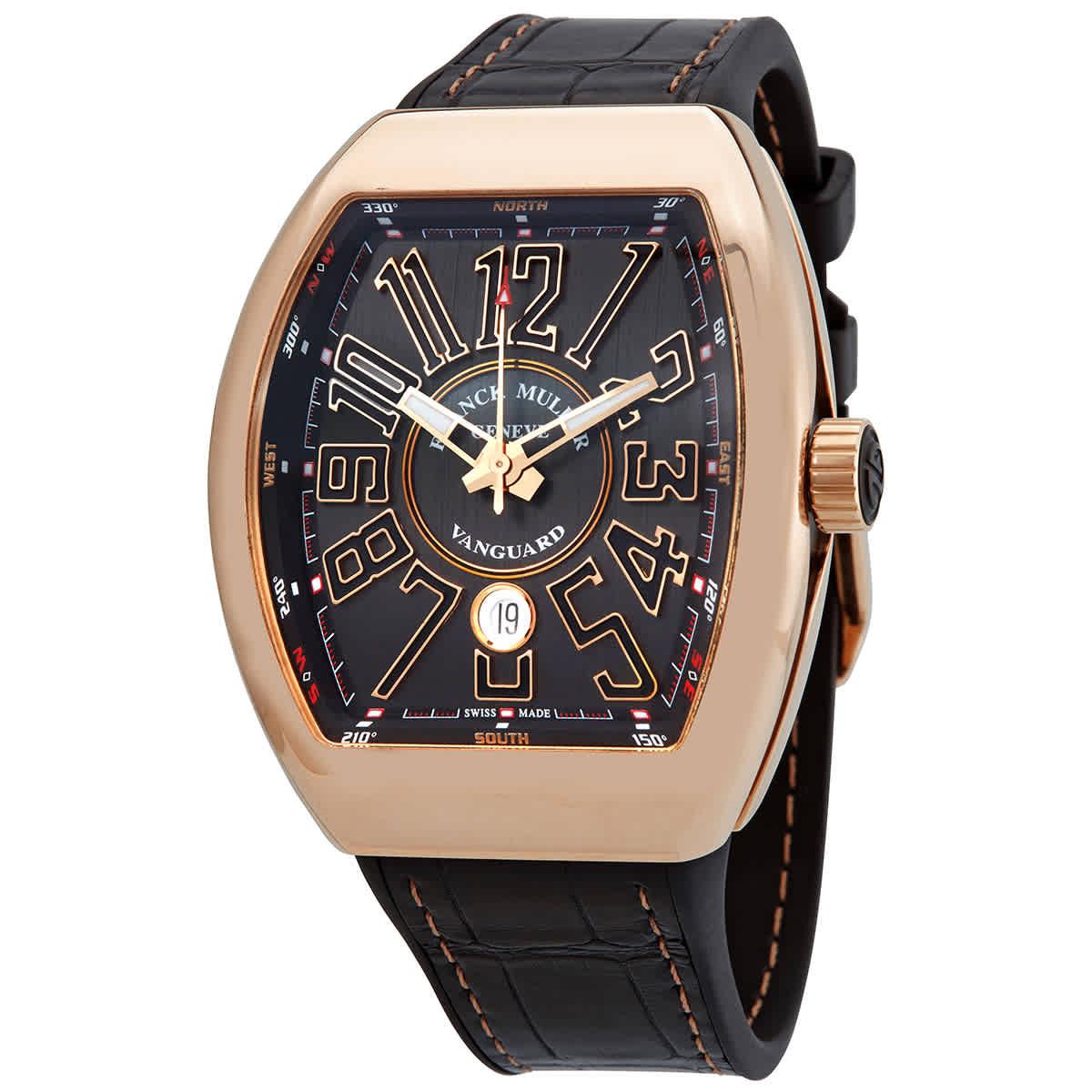 Franck Muller Vanguard Black Dial Unisex Watch V45scdt(5nnr)