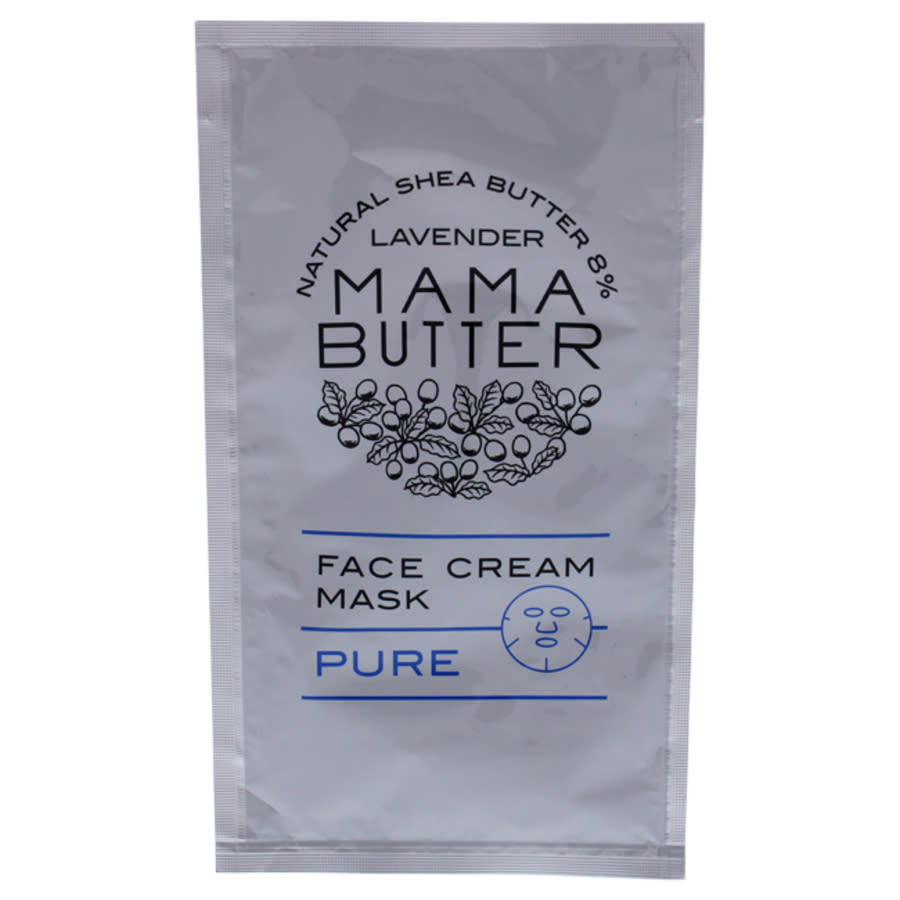Mama Butter Face Cream Mask - Pure By  For Women - 1 Pc Mask In White