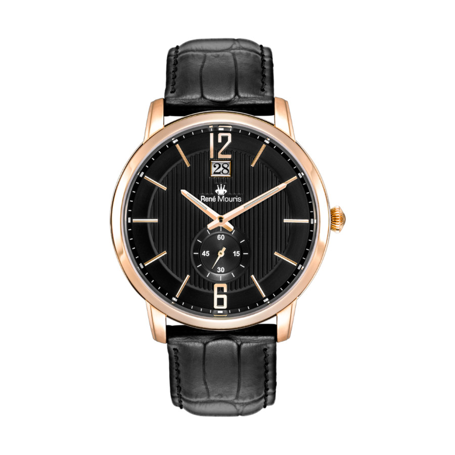 Rene Mouris Executive Black Dial Mens Watch 80101rm5