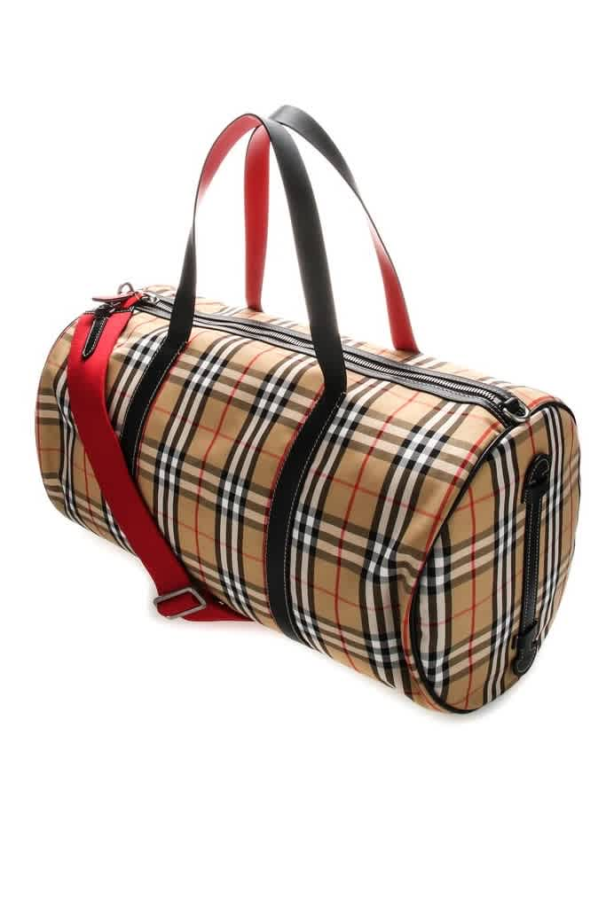 Burberry Mens Large Kennedy Vintage Check Bag In N,a