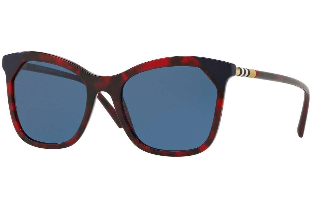 Burberry Blue Cat Eye Ladies Sunglasses Be4263f-371180-54
