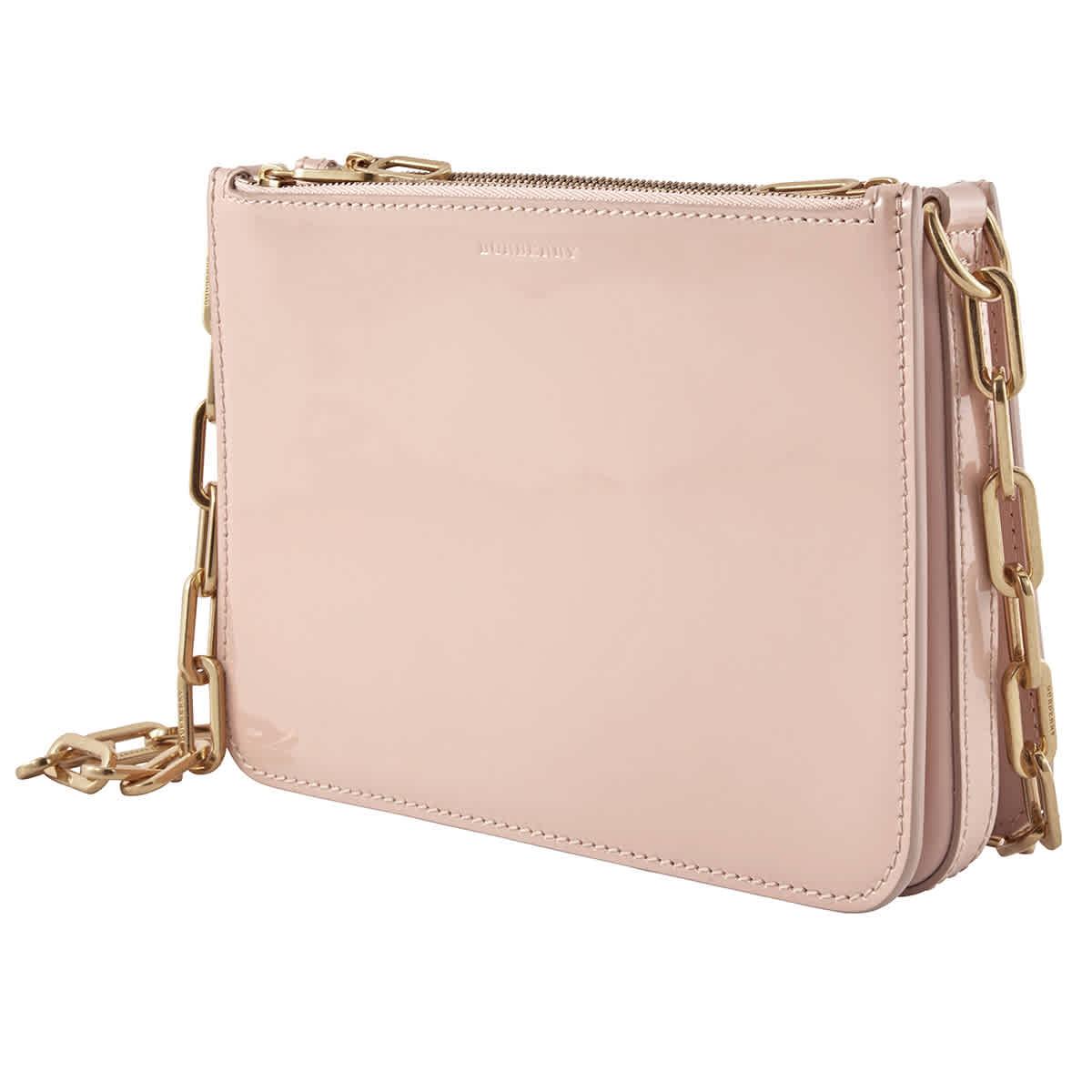 Burberry Pale Fawn Pink Penhurst Chain-link Shoulder Bag