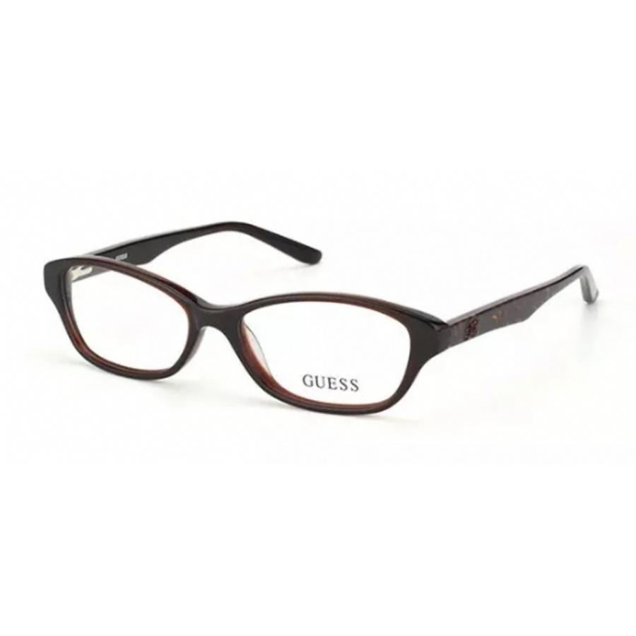 Guess Unisex Brown Round Eyeglass Frames Gu2417d9652