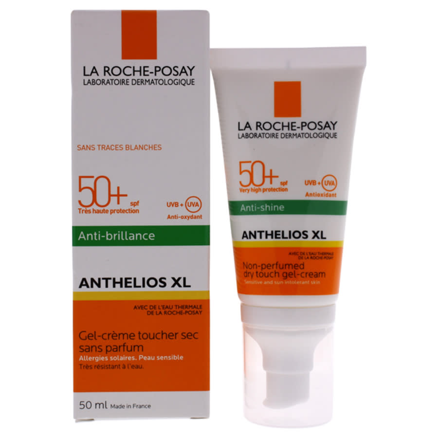 La Roche-posay Anthelios Xl Gel-cream Dry Touch Spf 50 By  For Unisex - 1.7 oz Sunscreen In White
