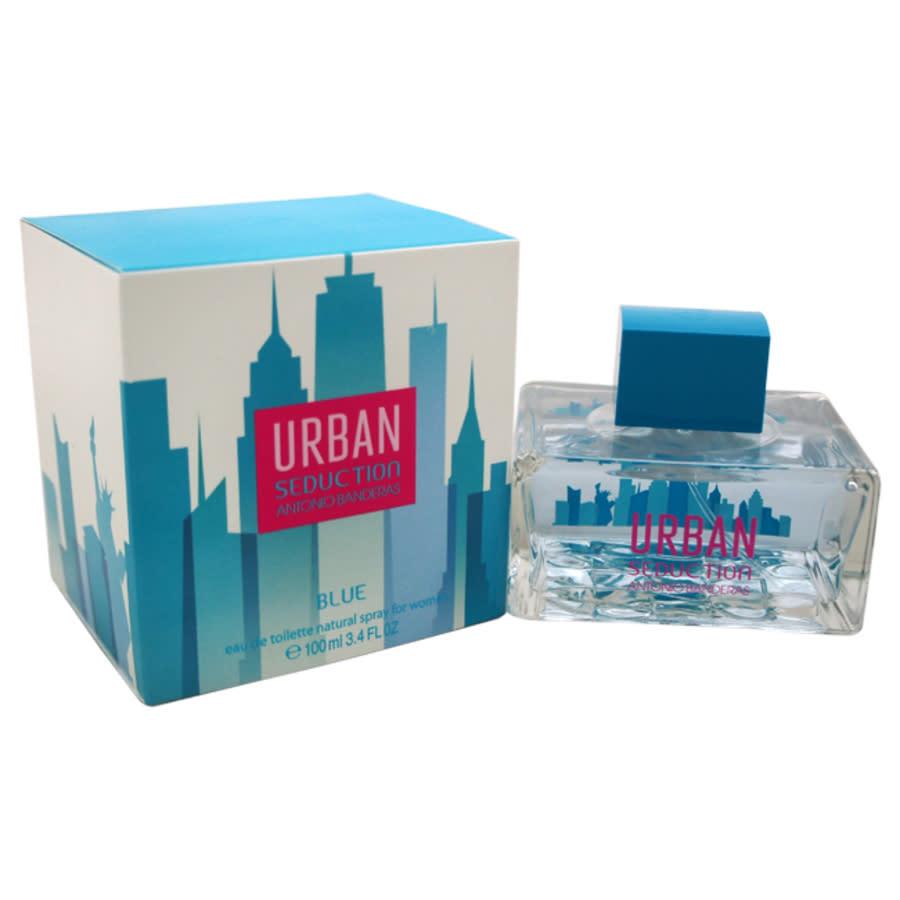 Antonio Banderas Urban Seduction Blue By  For Women - 3.4 oz Edt Spray