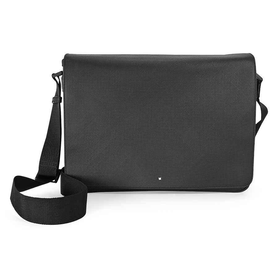 Montblanc Meisterstuck Westside Extreme Messenger Bag 111136 In Black